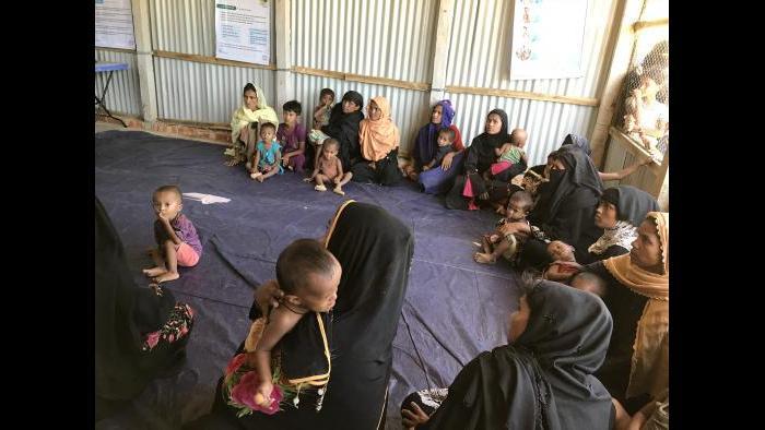 Photos taken in Myanmar and Bangladesh by Congresswoman Jan Schakowsky.