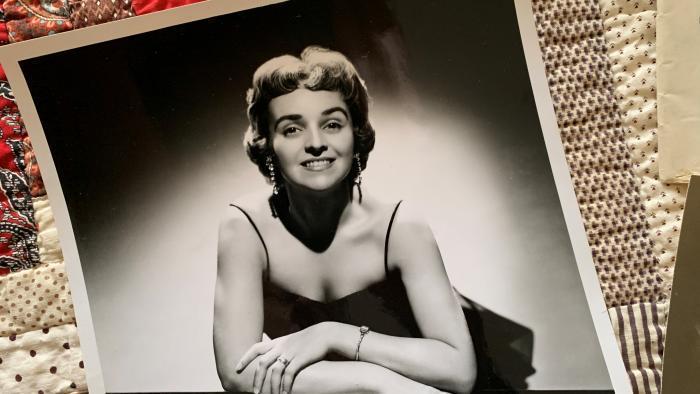 Dorothy Olson Pauletti in an early publicity photo.