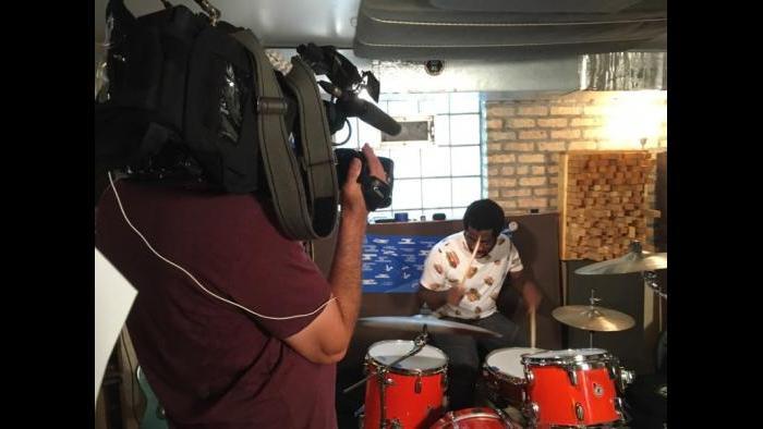Nnamdi Ogbonnaya (Marc Vitali / Chicago Tonight)