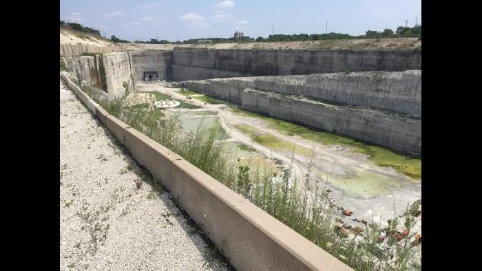 Stage one of the McCook Reservoir will be completed later this year with a holding capacity of 3.5 billion gallons of stormwater.
