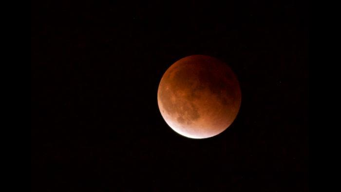 Photo by Clara Coen: Lunar Eclipse Sept. 27, 2015, from my rooftop.
