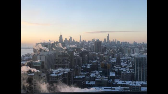 Chicago at sunrise (Submitted by Dan Soles)