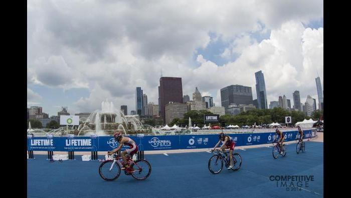 2014 ITU World Triathlon Chicago (Competitive Image)
