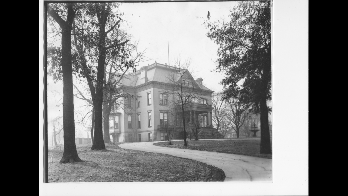 Executive Mansion, 1890s (Courtesy of Abraham Lincoln Presidential Library and Museum)