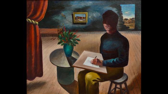 "Harold Noecker. ""The Genius?"" c. 1943. (Collection of Bernard Friedman, Chicago)"