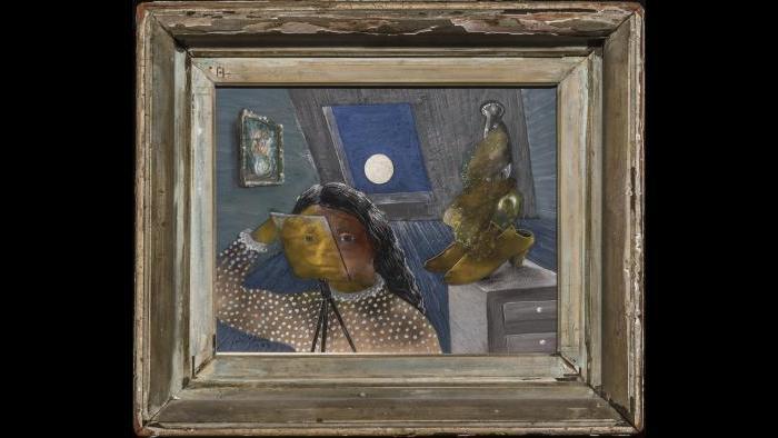 "Julia Thecla. ""Full Moon,"" 1945. (Schwartz Fine Arts, Chicago)"