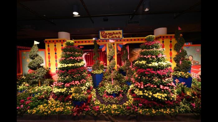 The 2017 Flower Show (Credit: Daniel Boczarski for Macy's)