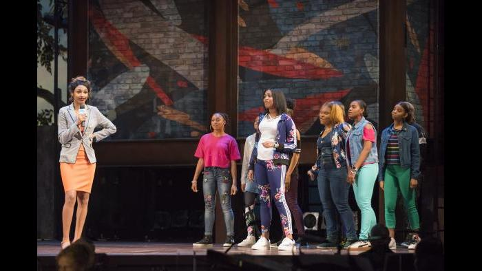 """Empower"" performance May 31, 2018 at the Lyric Opera House. (Credit: Todd Rosenberg)"