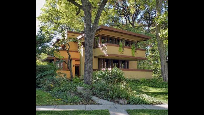The Laura Gale House in Oak Park, Illinois.