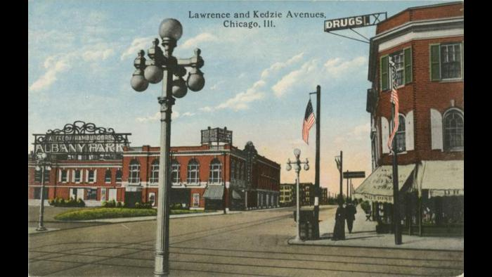 Lawrence and Kedzie Avenues
