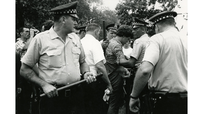 Grant Park, 1968 (Courtesy Al Lieberman)