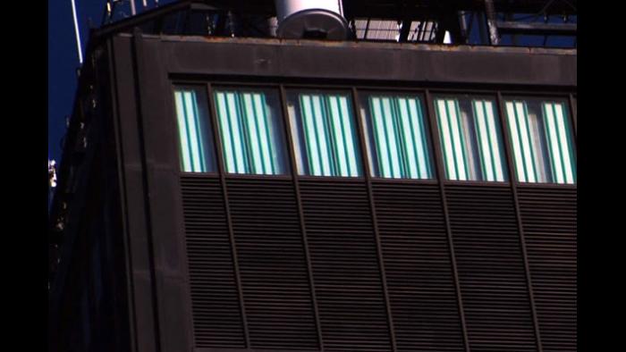 Light Sleeves on the Hancock Building
