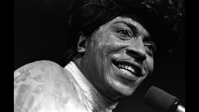 Little Richard. Fillmore West, San Francisco, October 16–19, 1969. (Iconic Images / Baron Wolman)