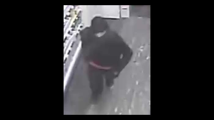 A photo taken from surveillance footage by the U.S. attorney's office shows a man identified by authorities as William Lorenz at a Walgreens store on May 31, 2020. (U.S. attorney's office)
