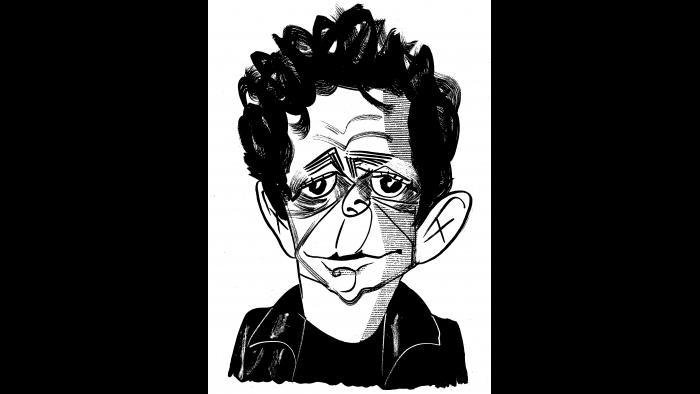 Lou Reed by Tom Bachtell (Courtesy of the artist)