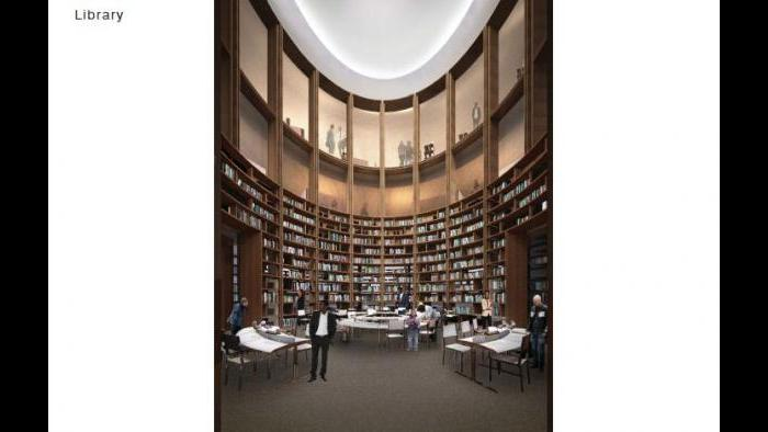 Rendering of the Lucas Museum's library. (Courtesy of Lucas Museum of Narrative Art)