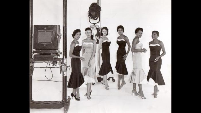 Miss Wonderful 1958 contestants (Courtesy of Ernestine Terry)