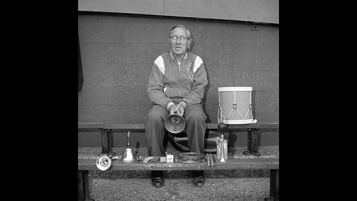 Man with Drum, etc., Comiskey Park (David Gremp)