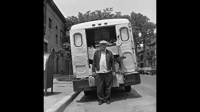 Man with Produce Truck, 1978/79 (David Gremp)