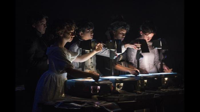 "Manual Cinema's ""Frankenstein."" (Photo by Michael Brosilow)"