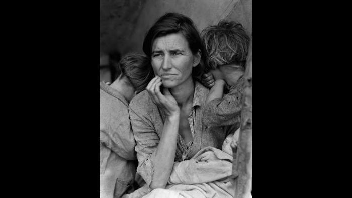 Migrant Mother (Dorothea Lange)