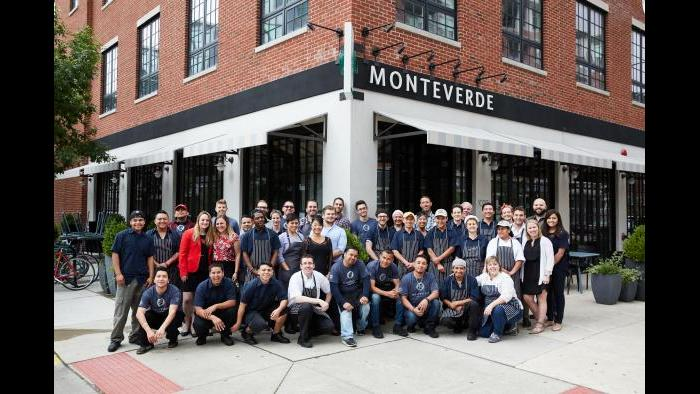 The team at Monteverde, 1020 W. Madison St. (Credit: Galdones Photography)