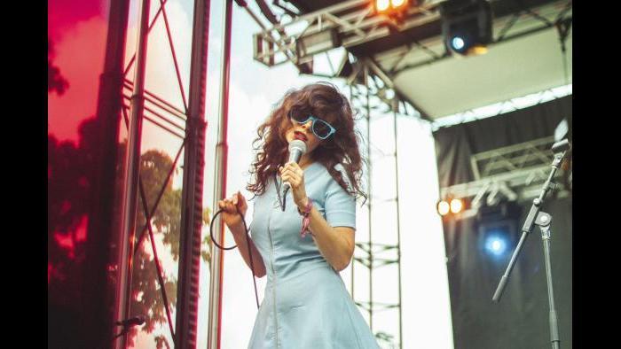 Natalie Prass performs at Pitchfork in 2015. (Matt Lief Anderson / Pitchfork)