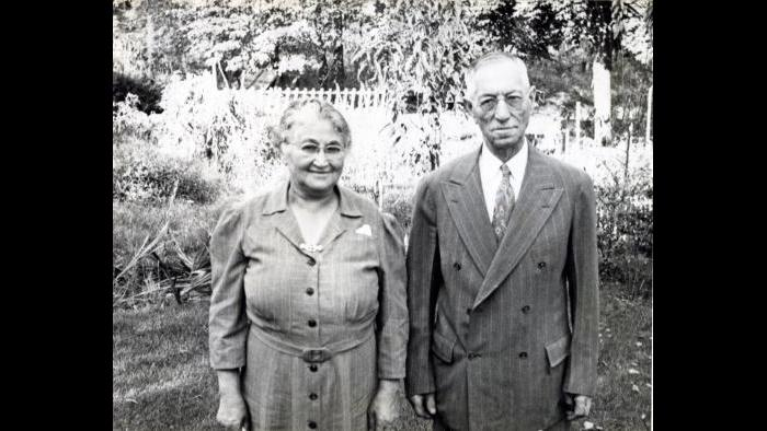 Norman Lear's grandparents (Courtesy of Norman Lear)