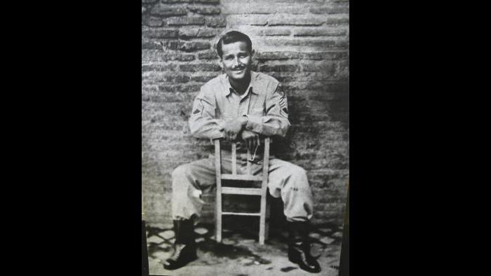 Norman Lear in uniform (Courtesy of Norman Lear)