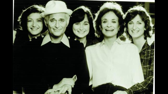 Norman Lear with second wife Frances and daughters (Courtesy of Norman Lear)