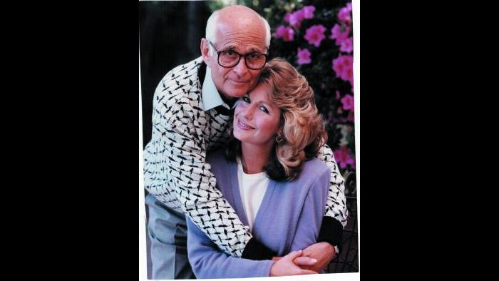 Norman Lear with wife Lyn (Courtesy of Norman Lear)
