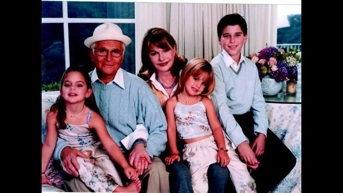 Norman Lear with his wife Lyn and their children (Courtesy of Norman Lear)