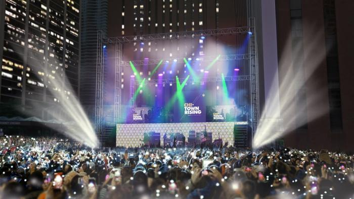 Chi Town Rising On New Year S Eve Brings A Little Nyc To