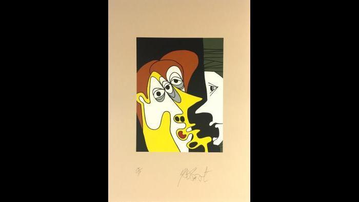 """Kurt Vonnegut, """"Negotiation Color Edition"""""""