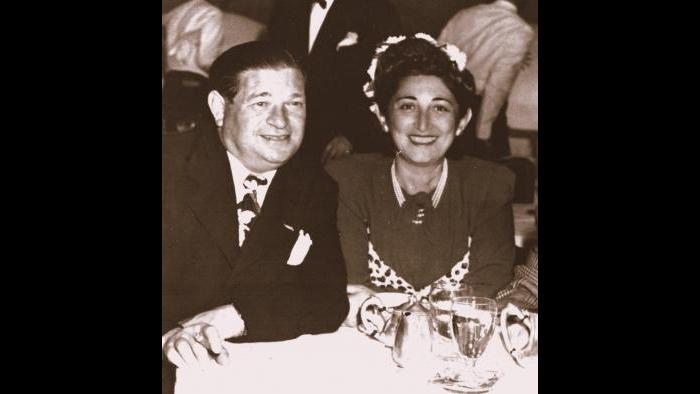 Norman Lear's parents Herman and Jeanette Lear (Courtesy of Norman Lear)