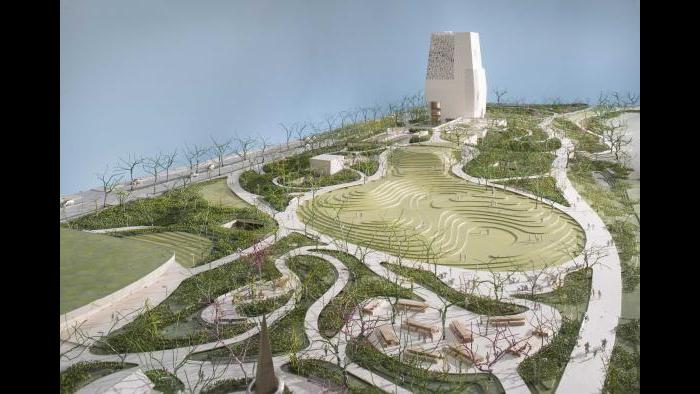 Obama Presidential Center campus rendering (Courtesy Obama Foundation)