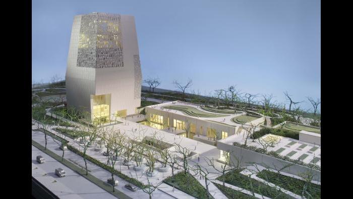 Obama Presidential Center campus rendering (Courtesy Obama Foundation)