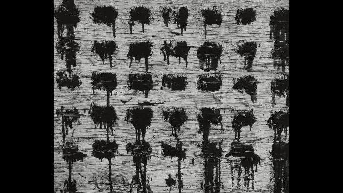 Aaron Siskind. Chicago 42 1952, 1952. (The Art Institute of Chicago, Gift of Noah Goldowsky)