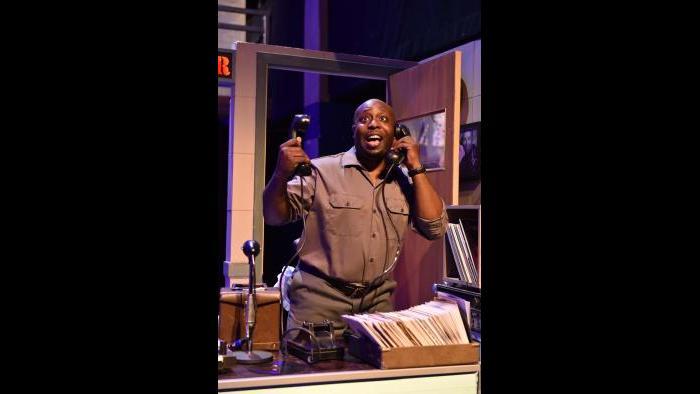 """James Earl Jones II in """"Memphis."""" (Photo by Michael Courier)"""