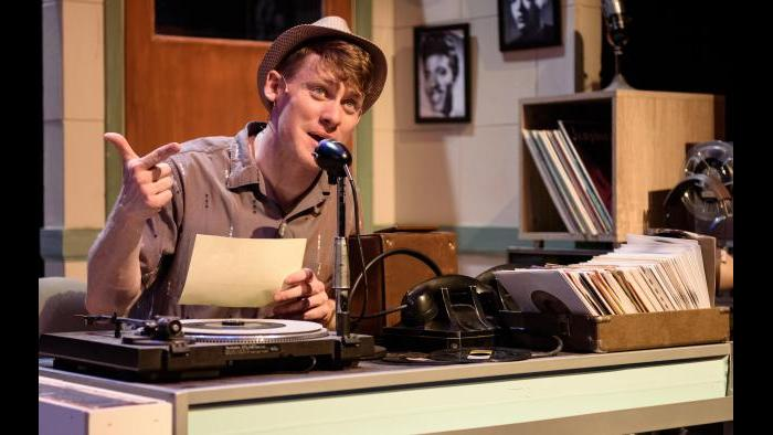 "Liam Quealy in ""Memphis."" (Photo by Michael Courier)"