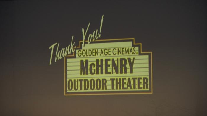 Opening night at the McHenry Outdoor Theater. (WTTW News)