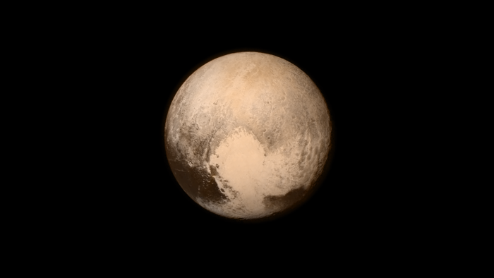 An image of Pluto taken aboard NASA's New Horizons spacecraft on July 13, 2015. (NASA/Johns Hopkins University Applied Physics Laboratory/Southwest Research Institute)