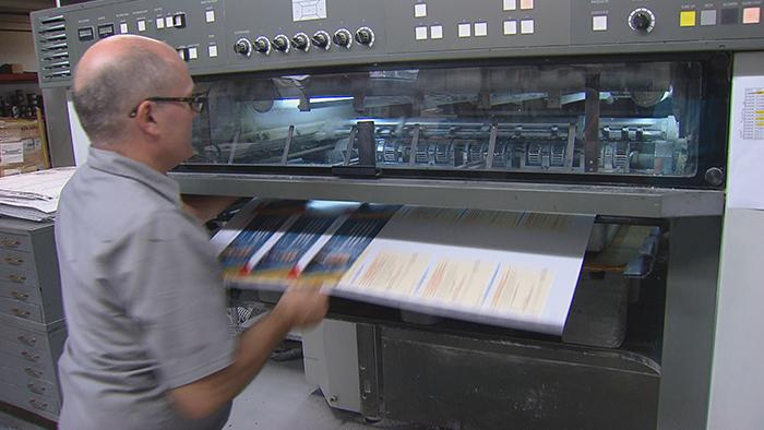 Image result for The Last Printer on Printers Row Fights to Survive