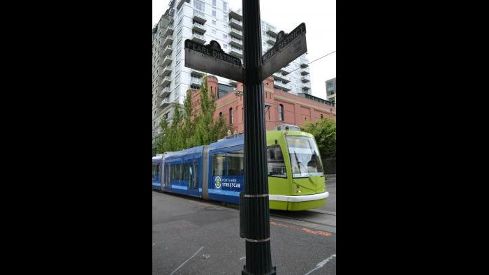 Portland, Ore., emphasizes the streetcar as part of its transit-oriented design.