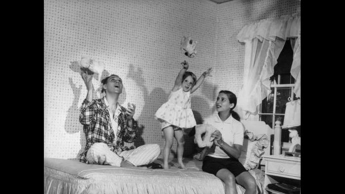 RBG and Marty with their daughter, Jane, 1958. Collection of the Supreme Court of the United States.