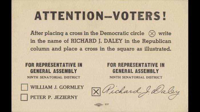 (UIC's Richard J. Daley Library)