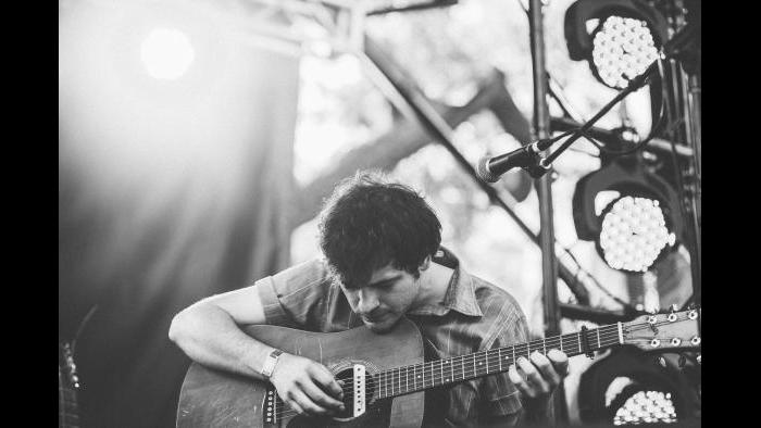 Ryley Walker performs at Pitchfork in 2015. (Kristina Pedersen / Pitchfork)