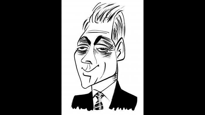 Rahm Emanuel by Tom Bachtell (Courtesy of the artist)