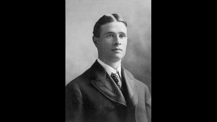 Frank LeRoy Chance, circa 1898 in Chicago. (Courtesy of Mark Braun, Old Timers' Baseball Association of Chicago)