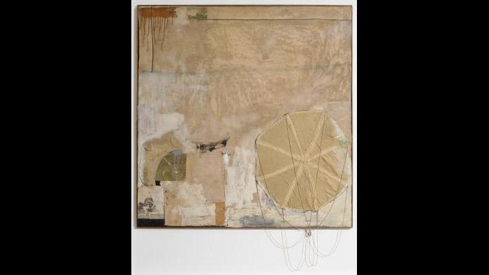 Robert Rauschenberg. Untitled, circa 1955. (Courtesy of the Art Institute of Chicago, Gift of Edlis/Neeson Collection)